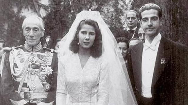 duchess of alba first wedding 1947