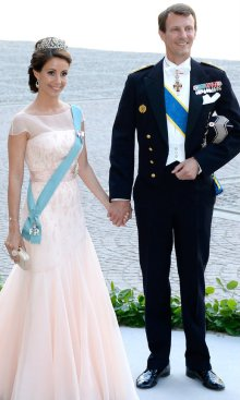 Marie &  Joachim at the Swedish Royal Wedding 2013
