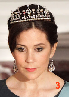 crown princess mary tiara with pearls