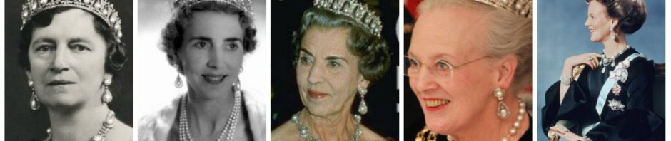 pearl poire tiara of denmark