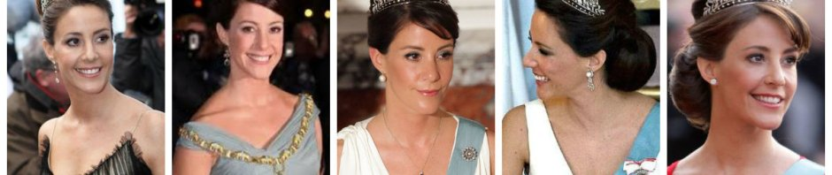 princess marie in diamond floral tiara