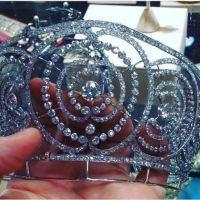 tiara time! La Ruse of Híjar: the Alba Saidian Art Deco Tiara