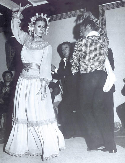 alba dancing at huescar wedding