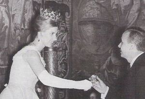 duchess of Alba in her ducal coronet fleuron