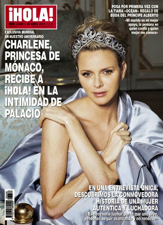 april 2014 charlene hola magazine