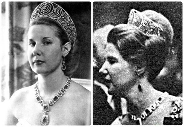 cayetana 18th duchess of alba in the La Rusa Art deco tiara