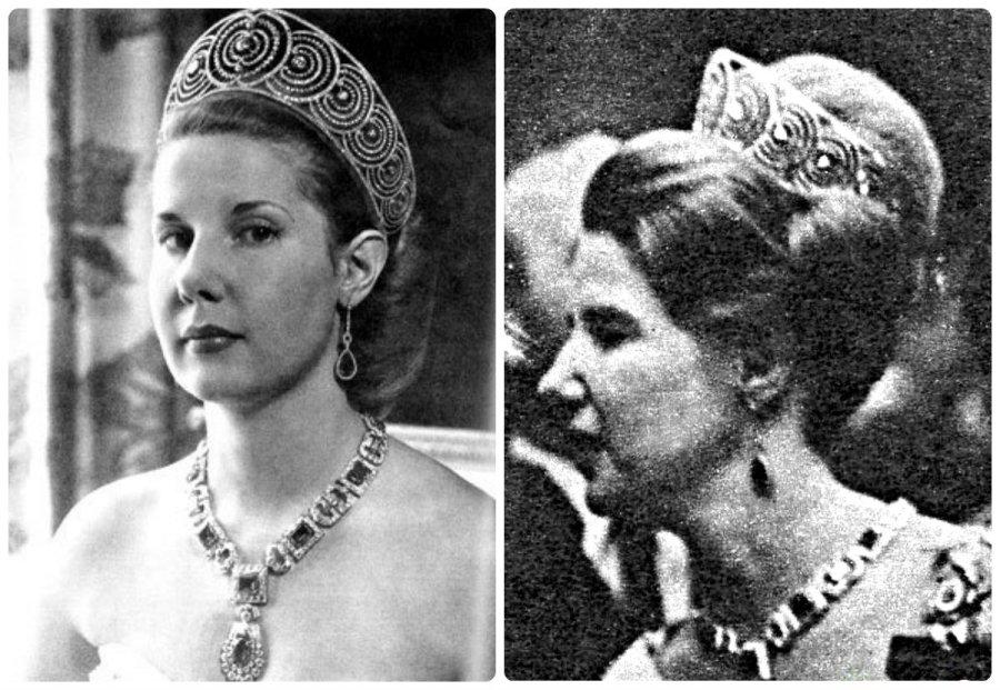 cayetana 18th duchess of alba in the La Rusa Art deco tiara