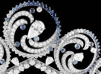 ocean tiara detail