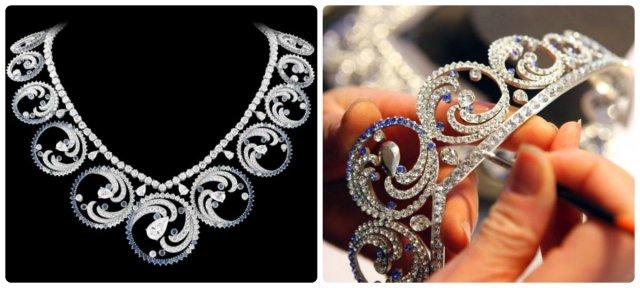ocean tiara necklace form