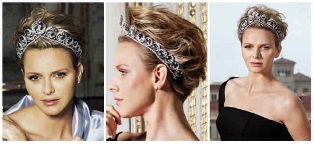 ocean tiara princess charlene hola magazine