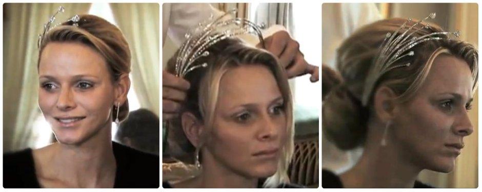 princess charlene monaco diamond foam