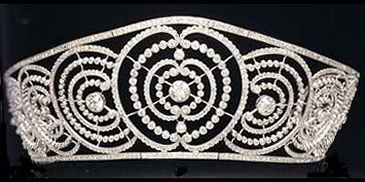 ruse deco tiara or the alba saidian tiara or LA RUSA in Spanish