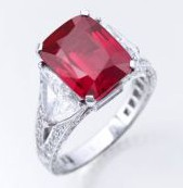 Burmese Graff Ruby
