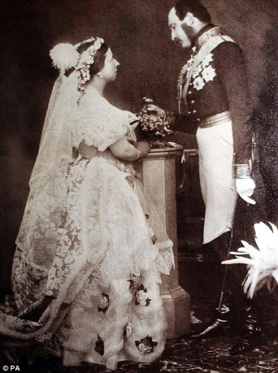 prince albert queen victoria wedding