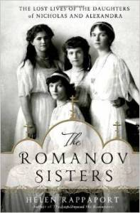 the romanov sisters book