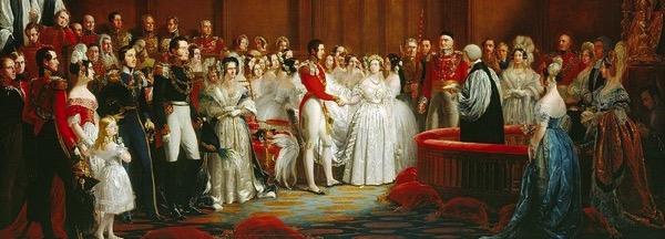 Victoria albert wedding at st james palace