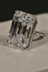 100 carat diamond ring