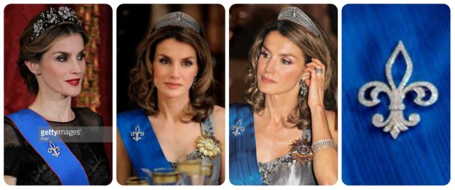 letizia in the ansorena brooch