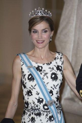 letizia in princesa tiara