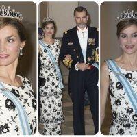 "Letizia finally debuts ""la Tiara Princesa"" at Margrethe's 75th Birthday Extraveganza"