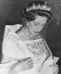 margaret in lotus flower tiara