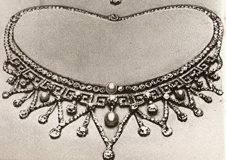 E. Wolff & Co. Necklace used to make Lotus Flower Tiara