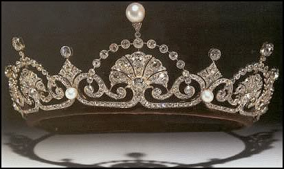 papyrus leaf lotus flower tiara
