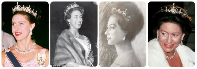 princess margaret lotus flower tiara