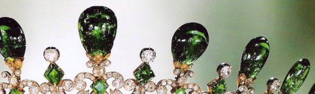 emerald spikes closeup