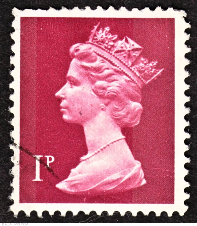 queen elizabeth 1971 stamp
