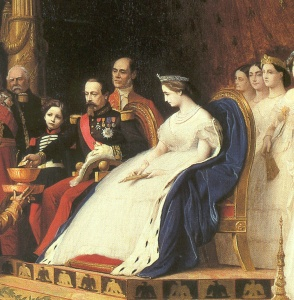 napoleon iii, eugenie & son