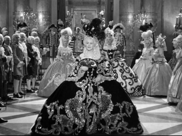 "Gladys George as Madame du Barry in 1938 ""Marie Antoinette"" film"