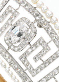 close-up of 3 carat center stone