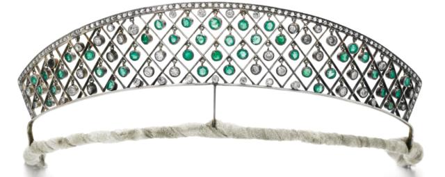 circa 1900 kokoshnik tiara