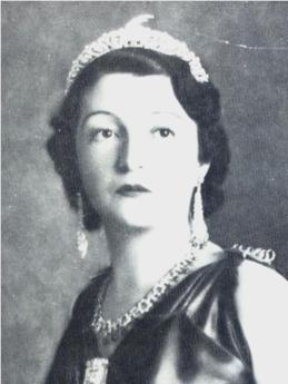 Princess Sophie of Albania in the Goat Tiara