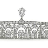 tiara time! art déco bandeau tiara
