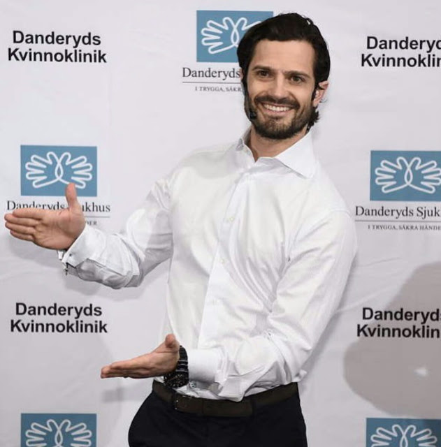 april 19, 2016, Prince Carl Philip of Sweden announces birth of his new son who we will call Prince Värmland until further notice
