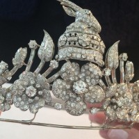 tiara time: Queen Geraldine's Coronation tiara