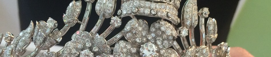diamond tiara once belonging to Geraldine, Queen of Albania