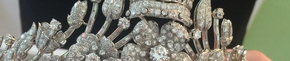 diamond tiara once belonging to Geraldine, Queen of Albania